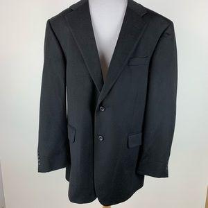 Jos. A. Bank Black Cashmere Blazer Sz 43R